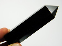Schwarzer Obsidian Kristall