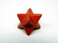 Merkaba aus rotem Jaspis