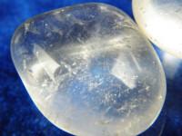 Bergkristall Trommelstein