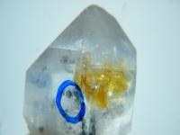 Bergkristall mit Wassereinschluss