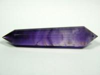 Amethyst Vogel Cut Kristall 24-seitig