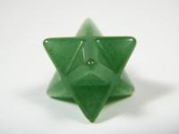 Merkaba aus grünem Aventurin