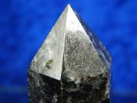 Regenbogen Fluorit Doppelender Kristall