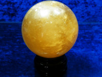 Gold Calcit Kugel XL
