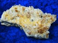 Quarzstufe mit Antimonit aus Herja, Rumänien