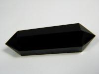 Schwarzer Obsidian Massagestab