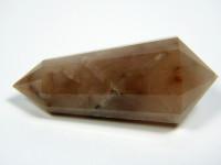 Vogel Cut Kristall 12-seitig aus rotem Bergkristall