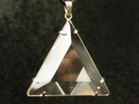 Bergkristall Phi Kristall Anhänger
