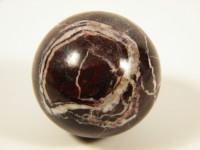 Rote Marmor Kugel 5cm