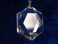 Himalaya Six Star Anhänger aus Bergkristall