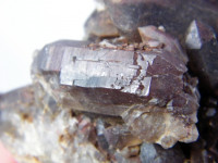 Großer Zepter-Rauchquarz Doppelender Kristall