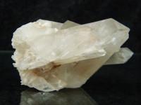 Bergkristallstufe mit Doppelendern aus Madagaskar
