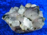 Phantom Begrkristall Stufe mit Epidot aus China