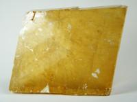 Goldener Calcit Rhomboeder Kristall XL