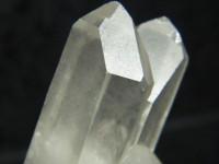 Klare Bergkristall Stufe aus der Schweiz