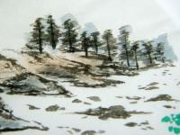 Titanium Aura Bergkristallstufe