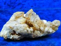 Zepter-Bergkristallstufe mit Hämatit
