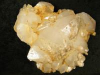 Bergkristallstufe mit Calcit 3,7kg