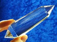 Vogel Cut Kristall 33-seitig XL