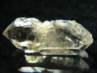 Bergkristall Doppelender vom Brandberg