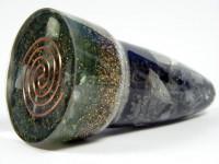 Gold-Calcit Rhomboeder XL