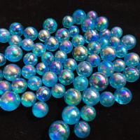 Blue Aura Quarz Kugel 17mm