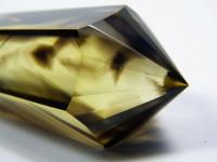 Citrin Vogel Cut Kristall 24-6-12seitig