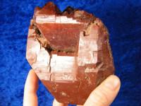 Rote Skeletal Bergkristallstufe XL