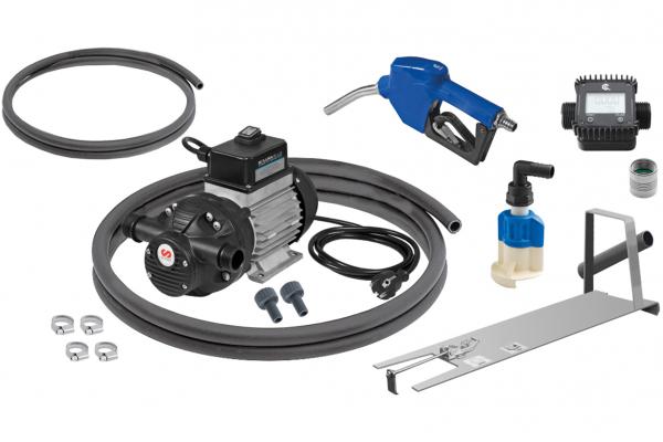Bluematic EMP-230V IBC u. 200l CDS, Zähler, Universal-Halter