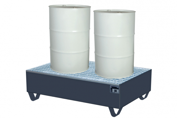 Auffangwanne SAF-2 (St) (1200x800x360 mm) f.2 Fässer