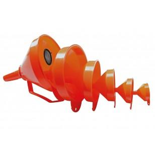 Trichter Set KT 4 orange 50 - 75 - 100 - 120mm
