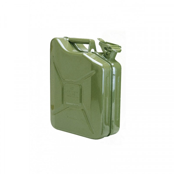 Metall-Kanister 10l olivgrün ohne Auslaufrohr