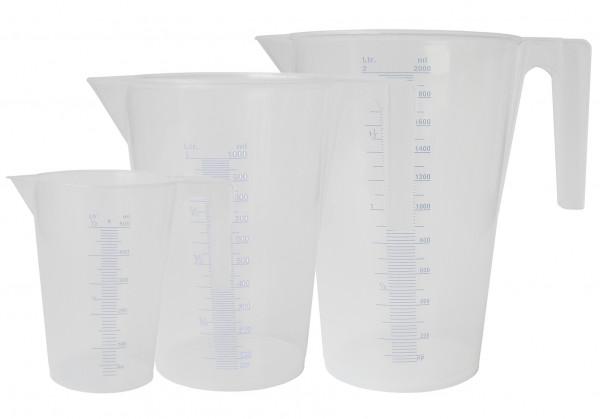 Set Messbehälter KMB Säure 0,5l - 1,0l - 2,0l