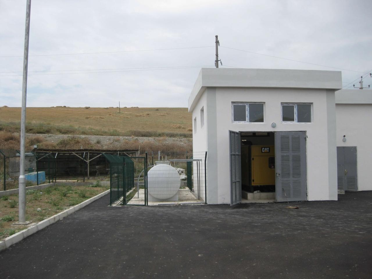 Dieseltank Aserbaidschan Bild 2