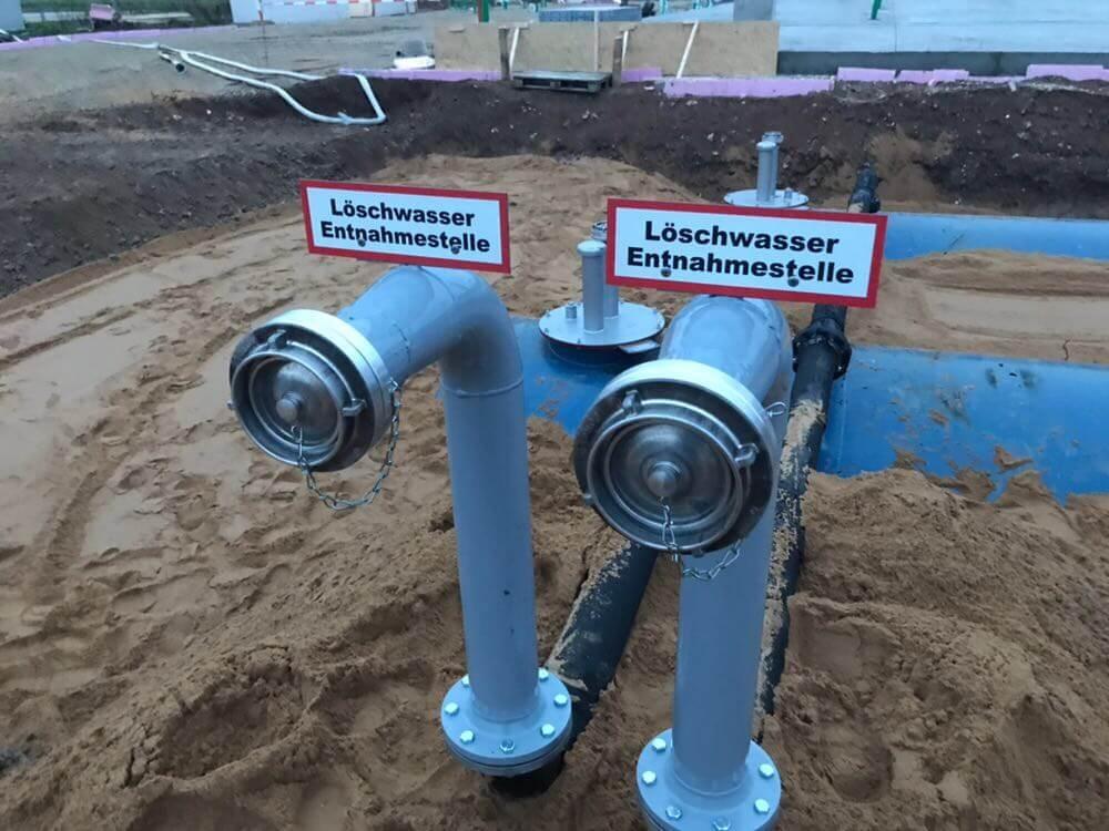 Löschwassertanks 2x100cbm Bild 3