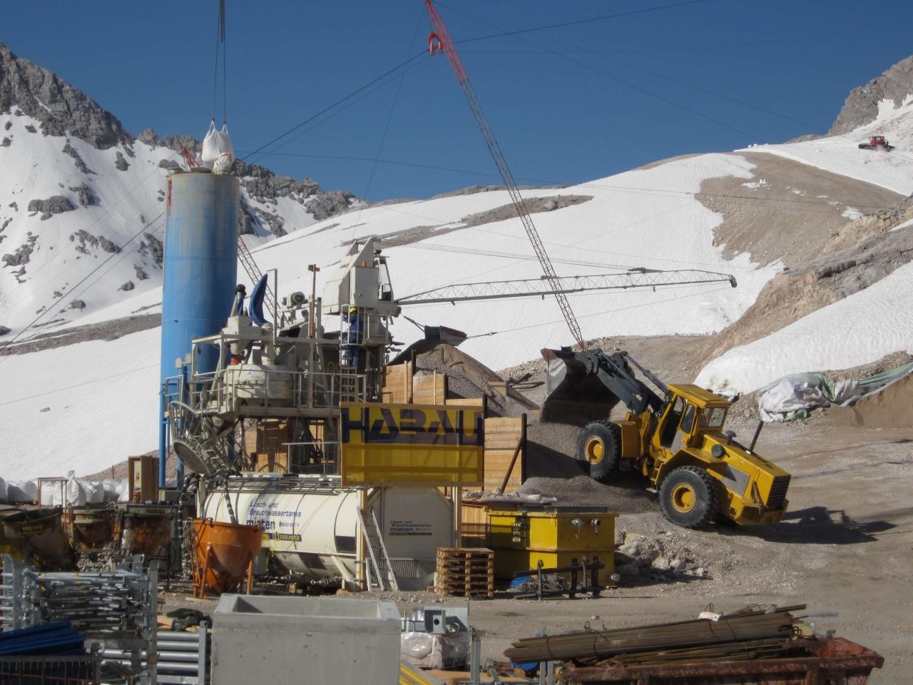 Löschwassertank Zugspitze Bild 1