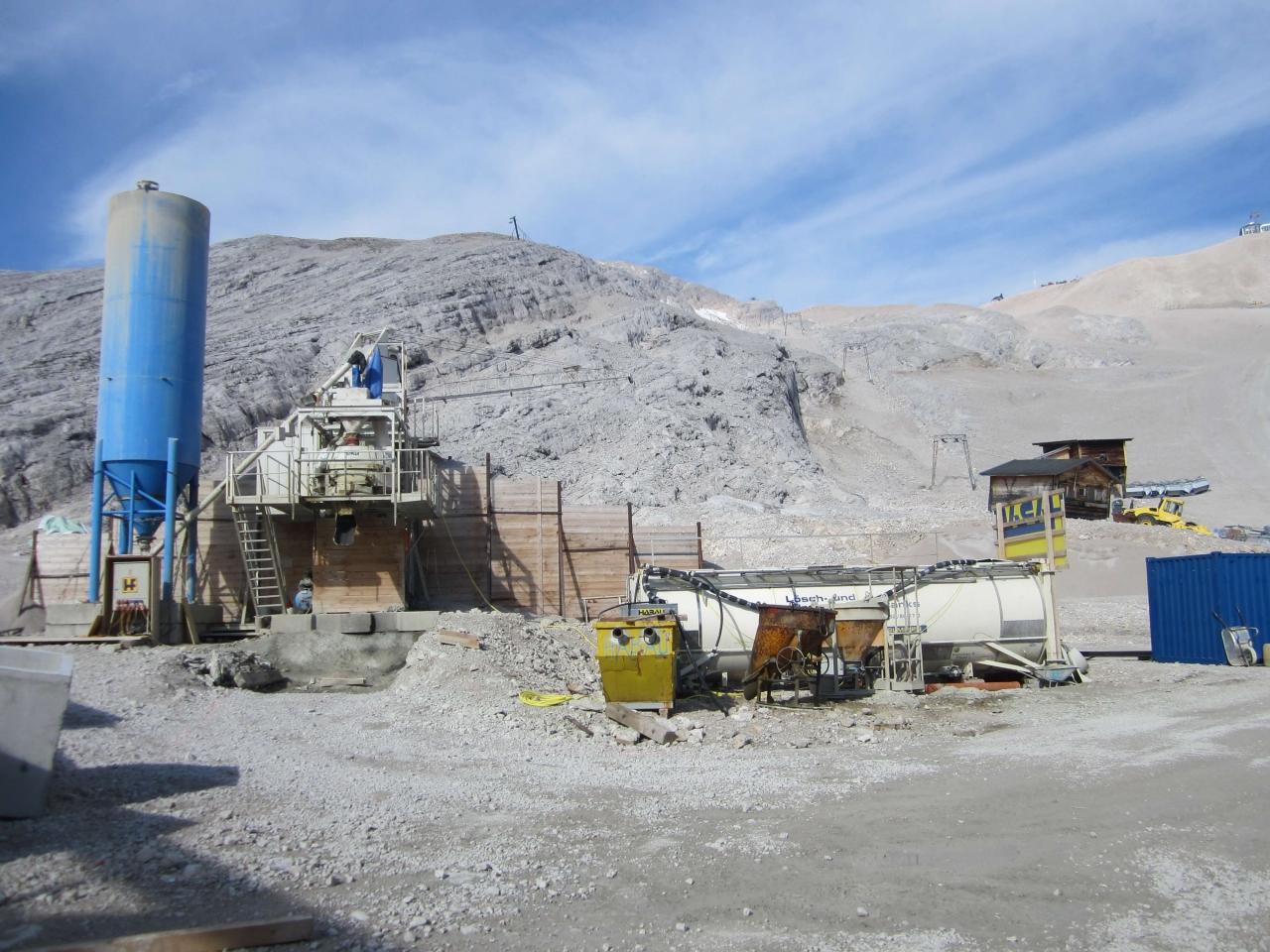 Löschwassertank Zugspitze Bild 2