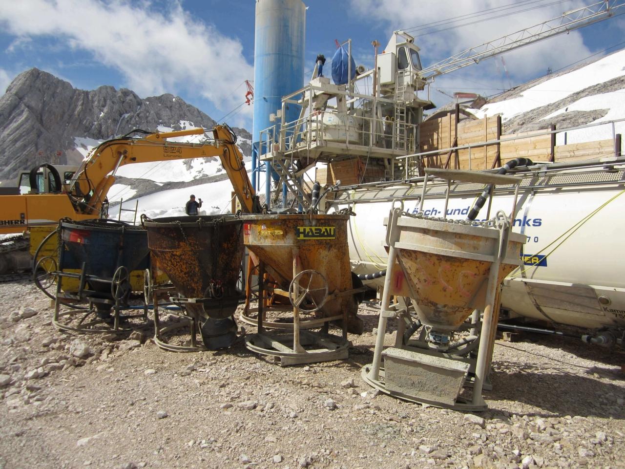 Löschwassertank Zugspitze Bild 5