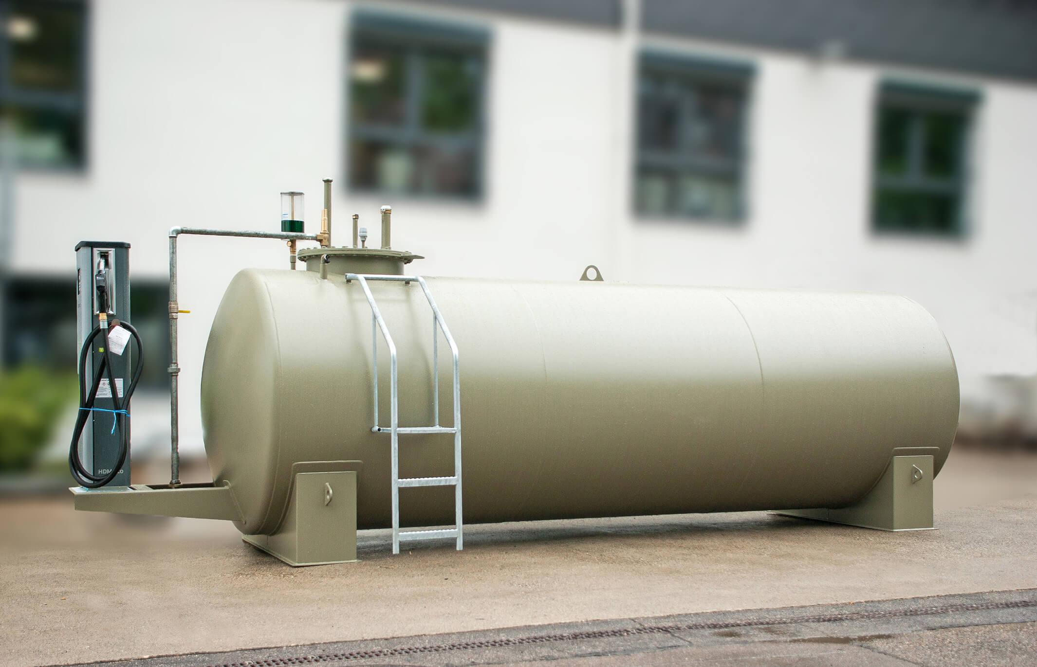 2.000l Heizöltank Dieseltank Stahltank