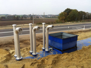 Löschwassertanks / Brauchwassertanks mieten