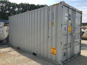 10.000 Liter / 160cm 10.000 Liter Tank im 20' Container, Container-Nr. CCCU 220211-4 mit Tokheim ZS & Gall TA