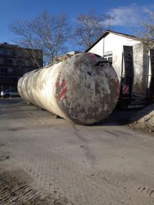 80.000l Löschwassertank Stahltank Wassertank