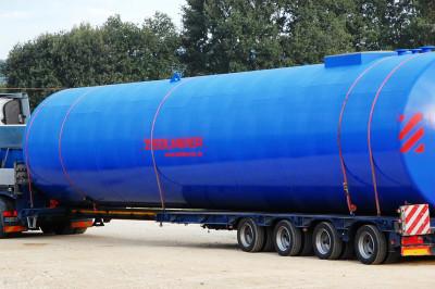 100.000l Löschwassertank Stahltank Dieseltank