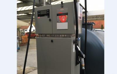 Dieselzapfsäule Q210 mit Tankautomaten