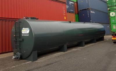 65.000l Löschwassertank Stahltank Wassertank