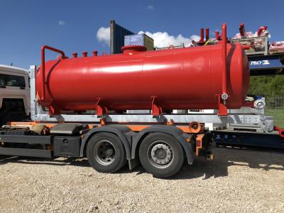 11.400l Abrollertank Löschwassertank Wassertank Absetztank