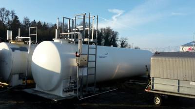 30.000l Löschwassertank Stahltank Wassertank