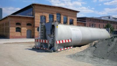 59.000l Löschwassertank Wassertank Abwassertank