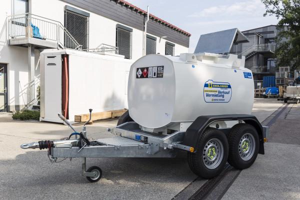 950l IBC Dieseltankanhänger