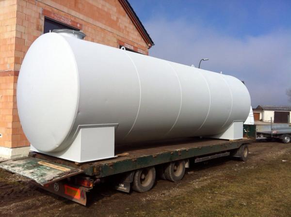 40.000l Dieseltank Heizöltank Stahltank